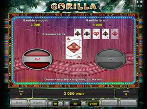 Gorilla игровой автомат онлайн